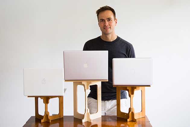 StandStand Inventor Luke Leafgren