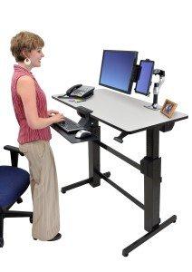 Ergotron Workfit-D Standing Desk