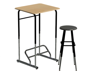 Stand-up Kids Desk