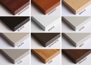 The Jarvis Desk Surface Comes in a Dozen Color Choices