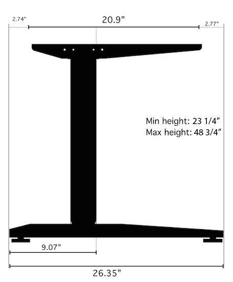 fully jarvis standing desk review standing desk reviews. Black Bedroom Furniture Sets. Home Design Ideas